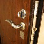 Двери металлические входные.