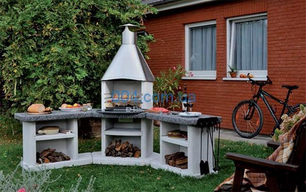 Барбекю, садовая печь